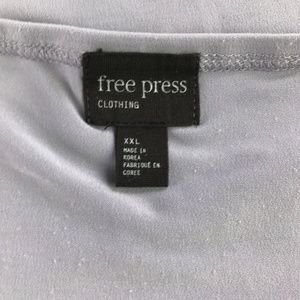 free press Tops - Free Press Faux Wrap Tank Cami Top Size XXL